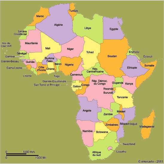 afrique continent - Photo