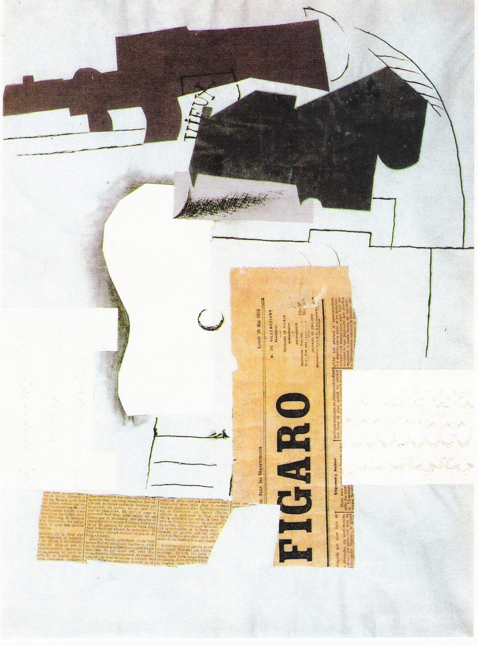 Peinture et criture - Picasso nature morte a la chaise cannee ...